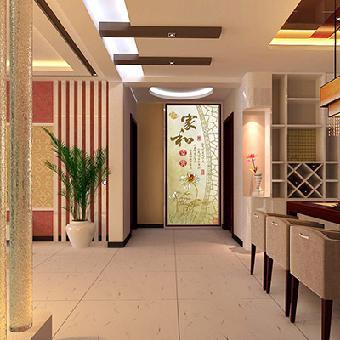 供应华玉堂瓷砖背景墙1140家和富贵电视背景墙图片