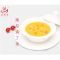 快餐湯品速食料理包250g南瓜雞丁湯料理包廠家批發