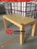 木纹体验桌新款苹果四条体验桌厂家定制