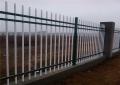 彩色方管圍墻柵欄 帶尖圍墻護欄 鋅鋼防攀爬圍墻護欄