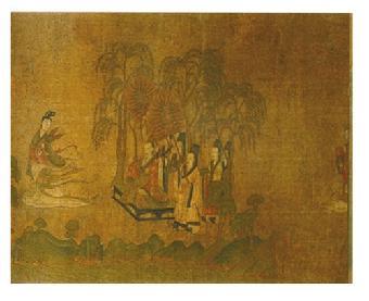 浙江省博物馆手绘图