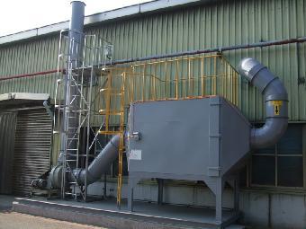 有机废气净化塔设备工程