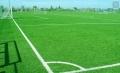 足球场人造草施工