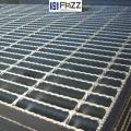 富華電廠復合操作平臺防滑齒形熱鍍鋅鋼格柵板
