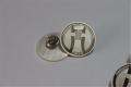 定制純銀胸章, 銀制司徽制作,廣東會展公司胸章