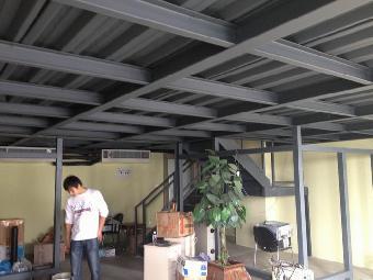 北京做阁楼隔层钢结构搭建二层夹层安装
