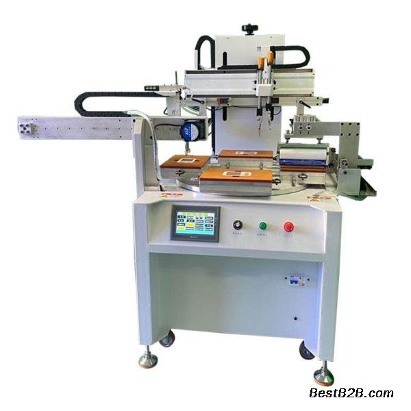 青岛市丝印机亚克力镜片网印机玻璃视窗丝网印刷机