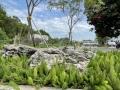 廣東英德石大型戶外假山石材英石草坪點綴景觀石