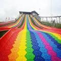 根据客户需求定制彩虹滑道生产制造商