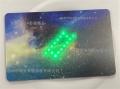f08广告发光卡联业智能卡LED卡