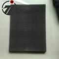 黑絲布席型網60目鐵絲網塑料顆粒廠用的過濾網方片