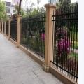 别墅区铁艺锌钢护栏厂家订制A铁艺锌钢护栏多规格订制