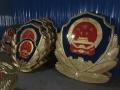 铸铝警徽制作定制 70厘米消防徽生产公司