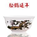 景德鎮工廠供應陶瓷壽碗 禮品碗套裝陶瓷餐具