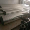 佛山新诚镀锌螺材料0.6-1.2mm螺旋风管配件
