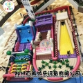 湖北宜昌大型充气闯关障碍赛道蹦蹦床新款上市真好玩
