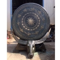 定制大型銅鼓雕塑 貴州壯族銅鼓訂制