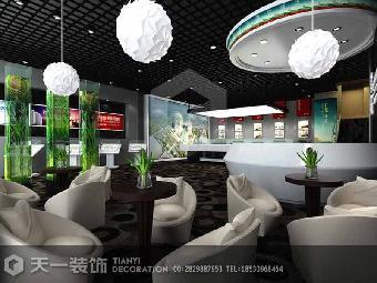 漯河高檔展廳售樓部裝修設計預算報價單