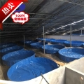 水產運輸折疊篷布水池、防漏水環保魚池魚塘