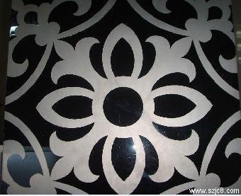 彩色不锈钢卫浴蚀刻欧式花纹