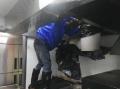 普陀區專業清洗飯店食堂油煙管道風機