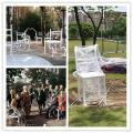 四川園林不銹鋼抽象椅子雕塑 休閑藝術烤漆椅制作