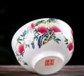 陶瓷寿碗定制龙凤寿桃碗福寿碗老人生日答谢礼盒套装回