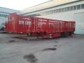 轻型13米单胎仓栅式运输半挂车