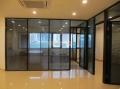 北京亮馬橋安裝玻璃隔斷昌平區安裝玻璃隔斷