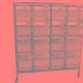 平放式大鼠籠架動物實驗專用大鼠飼養籠架