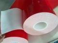 直銷紅膜白色PE泡棉膠帶VHB白色雙面膠帶亞克力防