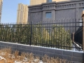 小區圍墻欄桿 鐵藝圍墻圍欄 庭院圍欄柵欄