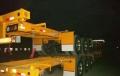 40英尺骨架式集裝箱半掛車銷售部報價中航鴻盛車業