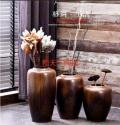 陶瓷落地陶罐花瓶顏色釉窯變景德鎮插花現代歐式客廳