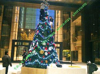 环保型圣诞树安装 圣诞树厂家制作安装