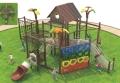 幼兒園兒童木制攀爬架爬網 優質黃花梨戶外攀爬架實木