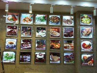 太原灯箱制作,LED显示屏制作,皮皮亮化,水饺墙如何做形象虾楼宇图片