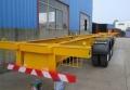 7.2米集裝箱平板掛車生產廠家中航鴻盛車業