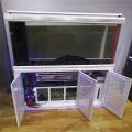 出售各種辦公室家庭客廳魚缸水族箱長方形底濾生態魚缸