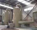 臥式廢氣凈化塔 工業除臭PVC材料噴淋塔
