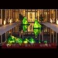 琉璃山峰 房地產人造景觀 透明彩色山形琉璃
