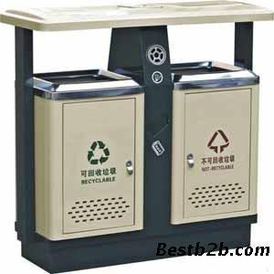作用与垃圾桶相同,一般是方形或长方形
