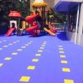 河北邯郸篮球悬浮拼装地板价格室外悬浮地垫