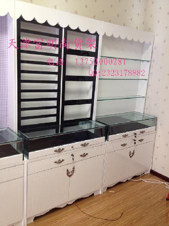 展柜制作服装展柜珠宝展柜设计安装制作美甲桌收银台