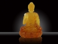 青海寺廟開光阿彌陀佛琉璃八大菩薩孔雀大明王背光佛
