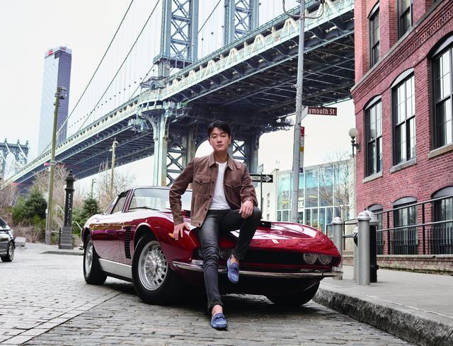 TOD'S豆豆鞋形象短片兜风 佟大为骋驰纽约街头