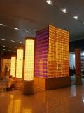 琉璃工艺品佛像琉璃砖万佛墙存放架光明柱