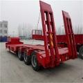 13米低平板半挂车更轻自重能做几吨