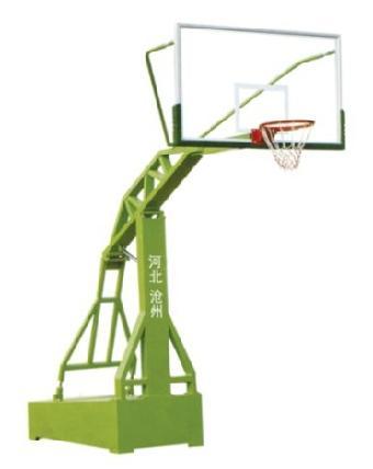 移动式仿液压篮球架,高通室内式篮球架图片