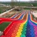彩虹滑道增添游客热度好项目